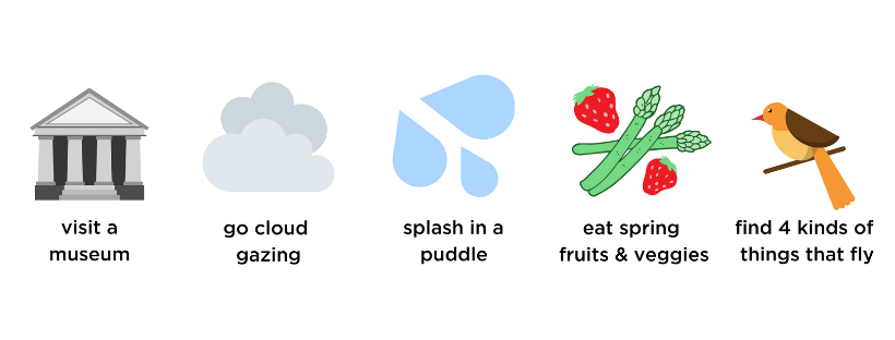 museum, clouds, puddles, vegetables, spring veggies, fruits, birds