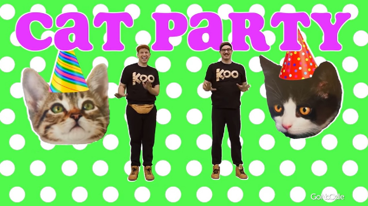 cat party, go noodle, mental health, physical health