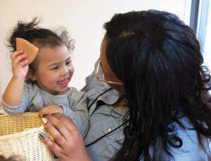 serve and return, communication, baby, brain development