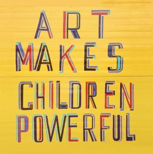 art, children, powerful, early learning