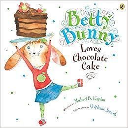 Betty Bunny Love Chocolate Cake book cover