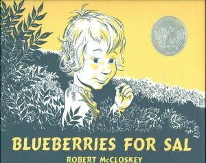Blueberries for Sal book cover