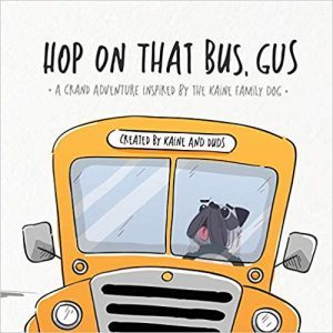 Hop on that Bus, Gus book cover