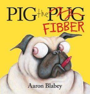 Pig the Pug Fibber book cover
