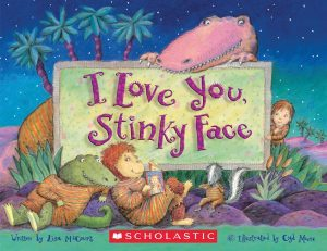 I Love You Stinky Face book cover
