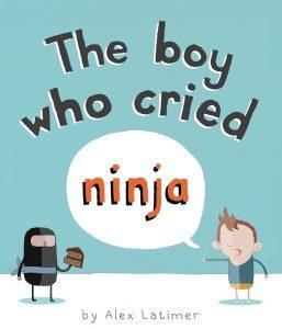 The Boy Who Cried Ninja book cover
